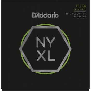 D´addario NYXL1156 Electric D-Tuning cuerdas para guitarra eléctrica